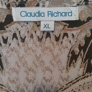Claudia Richard Other - Claudia Richard sheer top Size XL